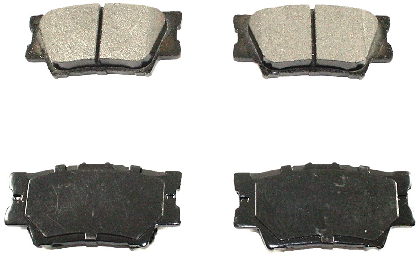 DuraGo BP1212 MS Rear Semi-Metallic Brake Pad