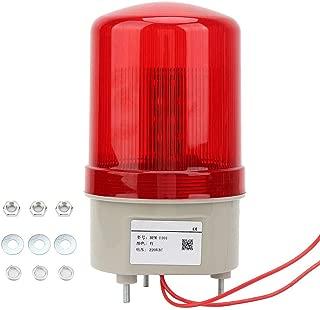 ecc blocco stradale gru a torre Spia LED,AC220V Lampeggiatore magnetico demergenza Lampeggiatore Luce fissa diametro rosso 75mm per officina
