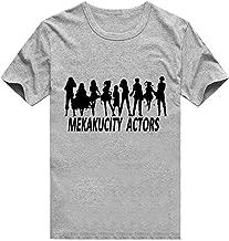 Gumstyle MekakuCity Actors Anime Cosplay Natsu Short Sleeve T Shirt Adult Costume Tee