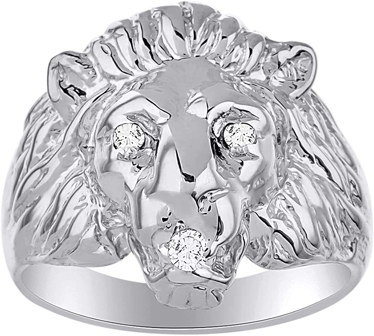 RYLOS Mens Kansas City Mall Rings Sterling Silver Amazing Starter Conversation Year-end annual account Ge