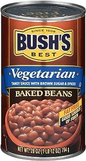 Bush's Best Vegetarian Baked Beans, 28 oz (12 cans)