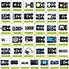 KEYESTUDIO 37 in 1 Sensor Kit 37 Sensors Modules Starter Kit for Arduino Mega R3 2560 Raspberry Pi Programming, Electronics Components STEM Education Set for Kids Teens Adults + Tutorial #5