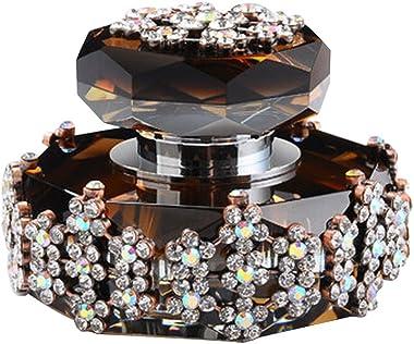 Alien Storehouse Car Perfume Crystal Car Air Freshener Perfume Bottle for Car Creative [Brown-4]