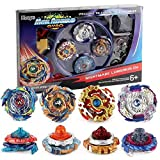 RGToy Bay Battle Burst Avatar Attack Battle Set with Two String Launcher and Grip Starter Set