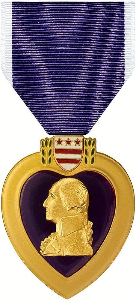 Purple Bombing new work Heart store Medal PH