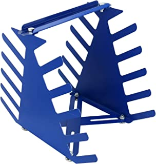 Desktop Screen Printing Squeegee Rack Silk Screen Squeegee Scraper Spatula Steel Holder Organizer