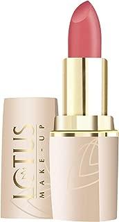 Lotus Make Up Pure Colors Matte Lip Color, Nude Shine, 4.2g