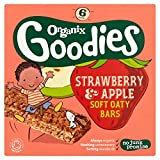 Organix Goodies Organic Strawberry & Apple Soft Oaty Bars 6 x 30G -