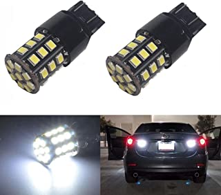 JDM ASTAR Super Bright AX-2835 Chipsets 7440 7441 7443 7444 992 LED Bulbs, Xenon White (Only used for backup reverse lights)