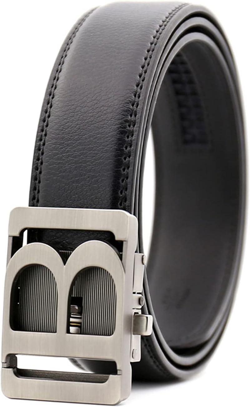 Men's Belt Premium Cheap mail order specialty store Genuine mart Luxury B Adjustable Feel Fashion