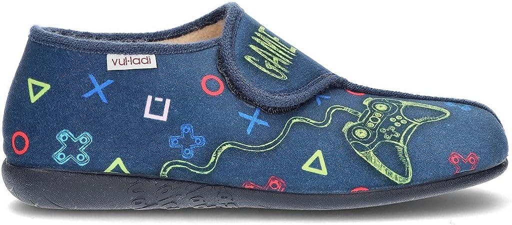 VULLADI Zapatillas Cerradas Niños 797 Color: Azul Talla: 36