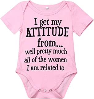 Baby Boy Girl be Careful What You say to me My Grandmas Crazy Bodysuit Funny Onesie