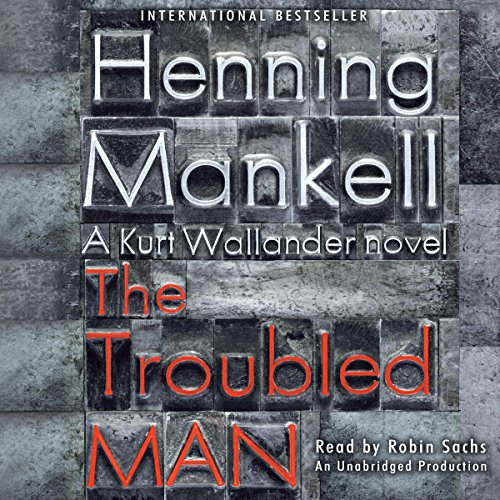 The Troubled Man audiobook cover art