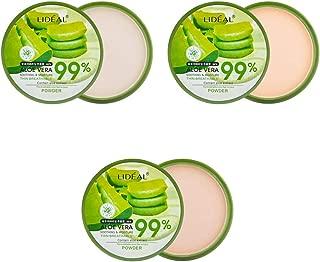 Natural Aloe Vera Moisturizing Smooth Foundation Pressed Powder Makeup Concealer Pores Cover Face Whitening Brighten Powder By Shouhengda