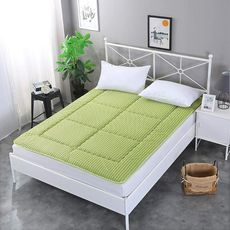 4D Breathable mattress, Thick Summer Sleeping mat, Non-Slip Foldable Tatami mattress Double Single