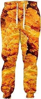 Fried Chicken Joggers - Pantalones de chándal con impresión 3D