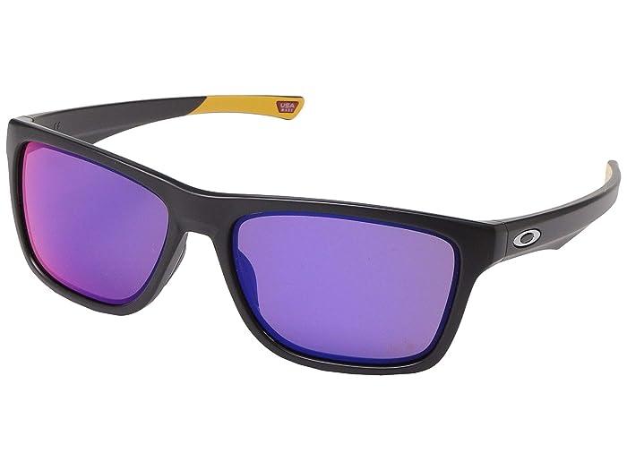 Oakley Holston (Matte Black) Sport Sunglasses
