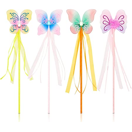 Fridge Magnets for Kids Painting Arts and Crafts Activities Pack of 10 Baker Ross AX883 Fairy Wooden Magnets Great for Fairy Party Crafting