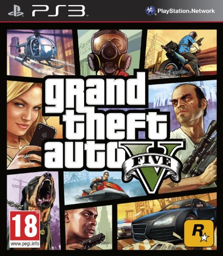 Grand Theft Auto V (GTA V) (PS3