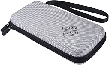 Zaracle for Graphing Calculator Texas Instruments TI-84 / Plus CE Hard EVA Carry Case Handheld Storage Case Travel Bag Protective Pouch Box (Gray)