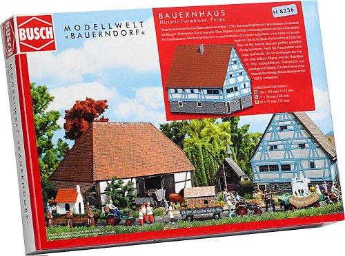 Busch 8236 - Bauernhaus aus Zaisenhausen