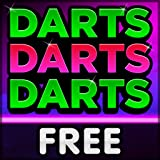 Play darts on your Fire TV! Simple remote control play Optional 2-player game modes for even more family fun