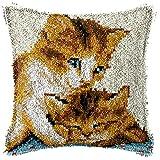 Kit de gancho para cojín de sofá, para niños, adultos, principiantes, fundas de almohada para...
