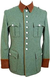 WW2 WWII German Field Police Officer Wool Jacket Dress Tunic