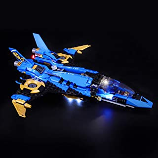 BRIKSMAX Led Lighting Kit for Legacy Jay's Storm Fighter - Compatible with Lego 70668 Building Blocks Model- Not Include The Lego Set