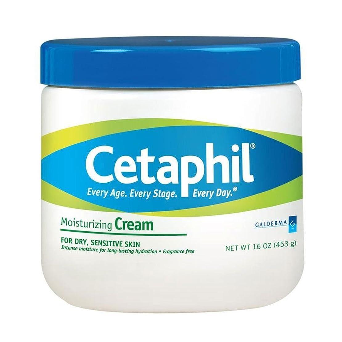 変位圧縮されたレースCetaphil Moisturizing Cream 453g [並行輸入品]