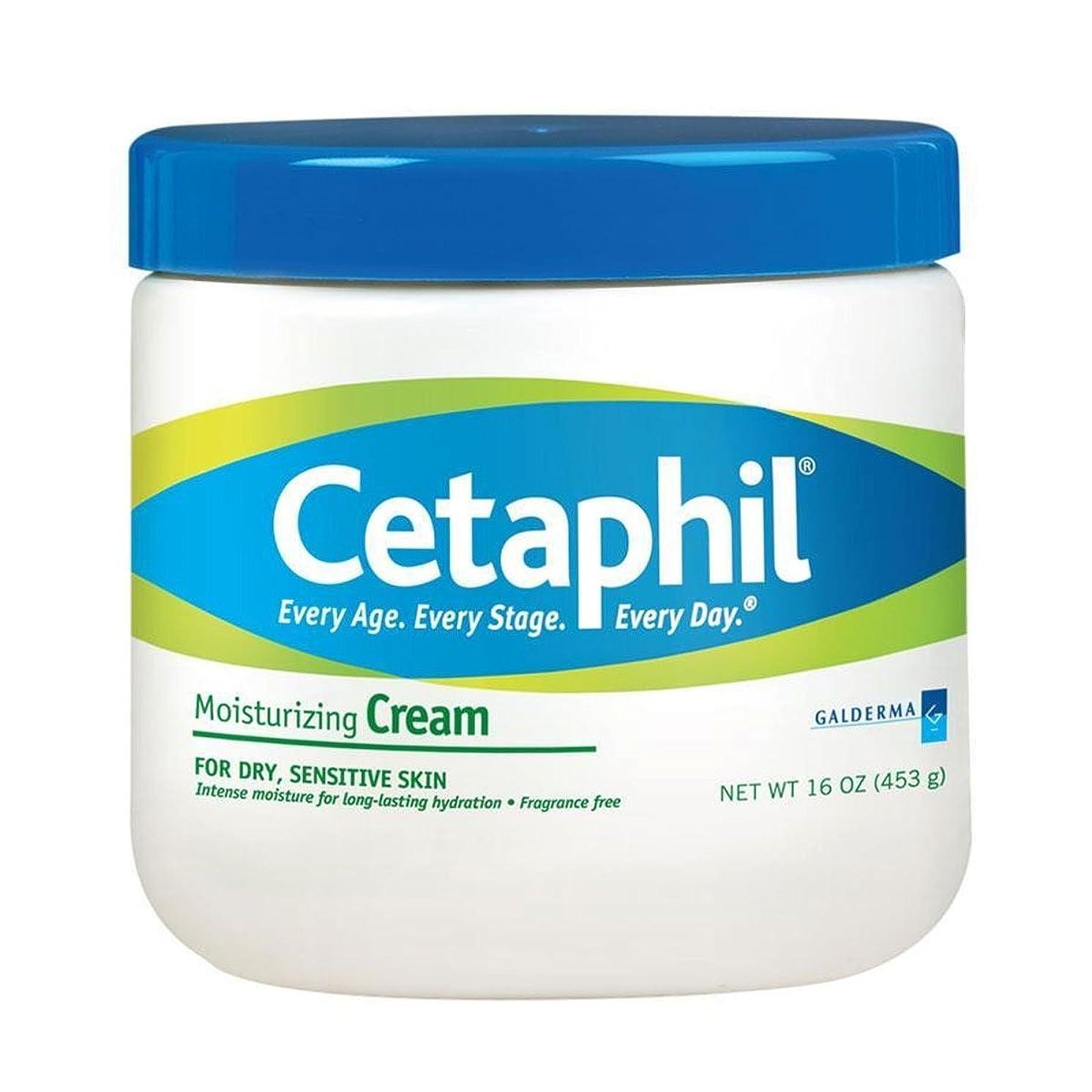 望みマトリックス検出するCetaphil Moisturizing Cream 453g [並行輸入品]
