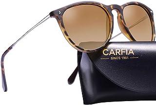 Vintage Round Womens Sunglasses Polarized UV400 Protection Classic Retro Designer Style CA5100