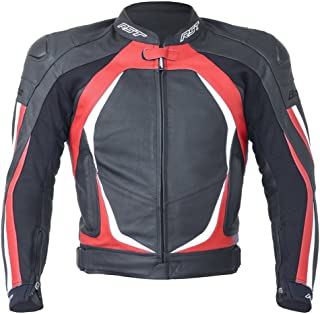 RST Blade II 1845 Leather Motorcycle/Motorbike Sports Jacket - Red M