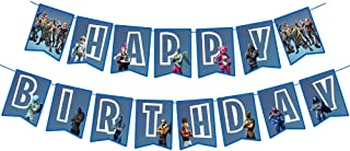 Awyjcas Video Game Party Favors Birthday Banner Party Supplies Baby Boy Birthday Party Photo Prop Decorations Decoration