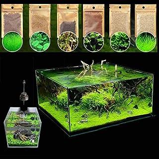JannahMehr 600Pcs Aquatics Water Grass Plant Seeds Fish Tank Aquarium Landscape Decoration, Easy to Plant, Plant Seeds, Ga...