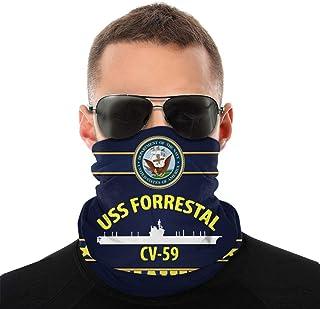 Nother USS Forrestal Cv59 Anime män utomhus multifunktionell variation huvudscarf vindtät ansiktsmask