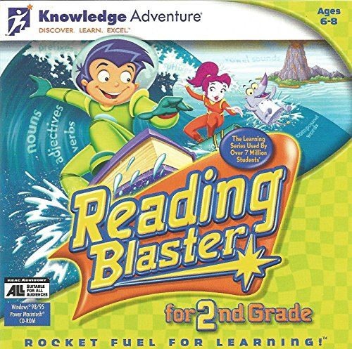 Price comparison product image Reading Blaster for 2nd Grade,  CD-ROM