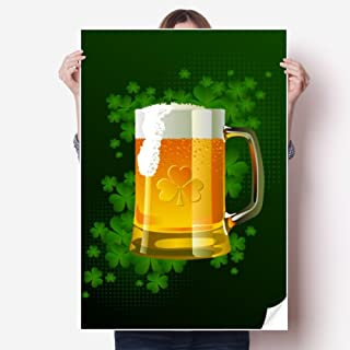 Beer Ireland St.Patrick's Day Sticker Poster Decal 31x22