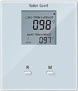 Home Radon Detector, Portable Radon Meter, Elifecity Long and Short Term Home Radon Monitor, Battery-Powered, Easy-to-Use