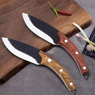Couteau Couteau de cuisine forgé à la main Couteau de cuisine à la main Couteau de cuisine à couper la viande Couteau Cout...