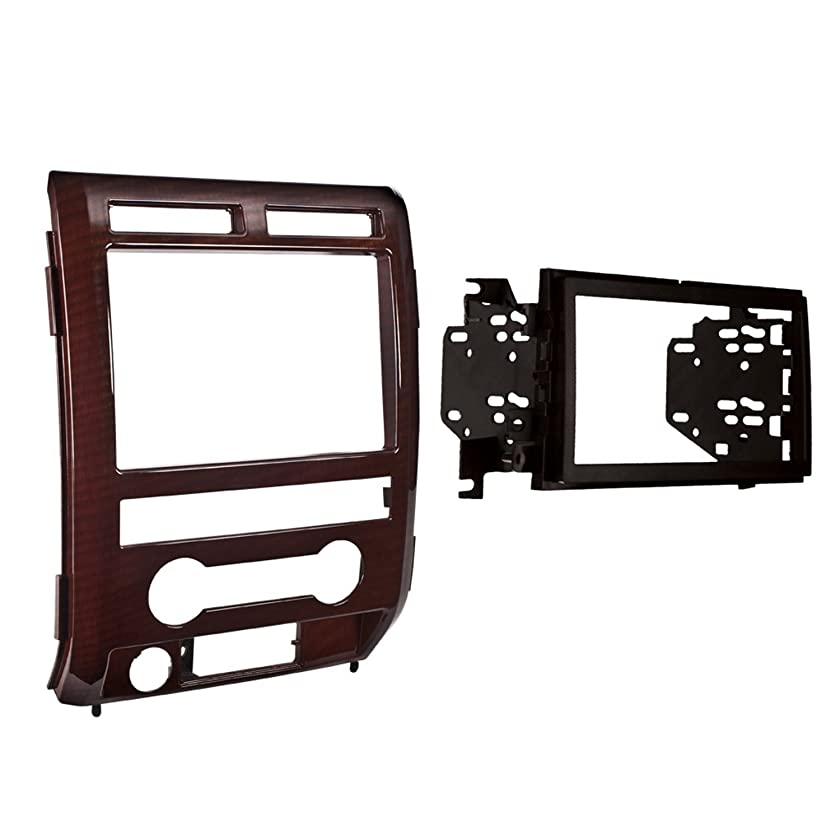 Metra 95-5822CM Double DIN Installation Dash Kit for 2009-2010 Ford F-150 King Ranch Non NAV Equipped Models