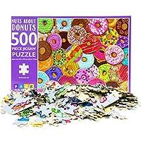 Aibecy 大人のための500ピースのジグソーパズル絵のパズルを組み立てる教育パズルゲーム子供のためのおもちゃの誕生日プレゼント十代の