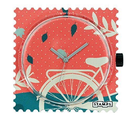 S.T.A.M.P.S. Stamps klok wijzerplaat Amsterdam 104803