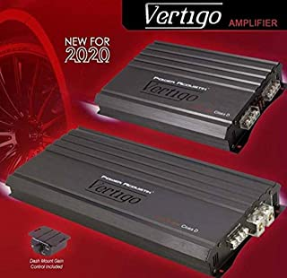 Power Acoustik VA4-1800D Vertigo Series 1,800-Watt Max 4-Channel Class D Amp photo