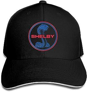lijied YBIUBUL Shelby Cobra Logo Baseball Caps Mens Snapback Hip Hop Flat Hat