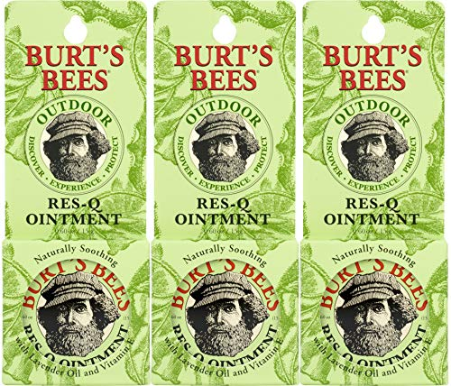 Burt's Bees 100% Natural Res-Q Ointment, 0.6 Ounces (Pack of 3)