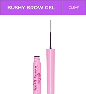 Lime Crime Bushy Brow Gel, Clear - Crystal Clear Tinted Eyebrow Mascara - Long-Lasting, Super-Strong Hold - Shapes, Tints, Adds Texture to Brows - Vegan - 0.12 oz
