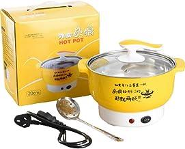Cuisinière électrique multifonctionnelle en acier inoxydable en plastique électroménagers à double puissance de feu foncti...