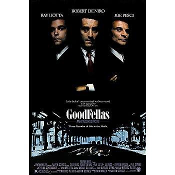 Goodfellas Movie Poster, Size 24x36