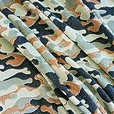 Stoff Meterware Wellness Camouflage Tarndruck Army